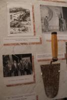 Мастерок, которым Петр Кауров заложил первый кирпич в стену дома по улице Машинистов