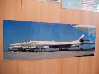 """Самолет дальней авиации """"Илья Муромец"""" на базе в г. Энгельсе, куда юный музейщики ездили в экспедицию"""