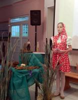 Александра Мирошник (Музей природы, ЦВР) рассказывает о выхухоли и мускусе