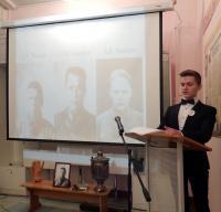 Игорь Нюхалов (школа №16) рассказывает о членах экипажа пропавшего самолета